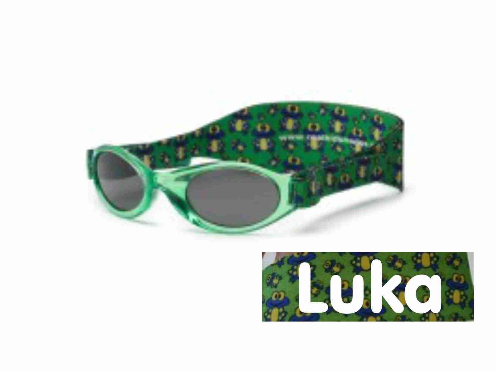 Otroška sončna očala RKS green frog (2-5) - unisex