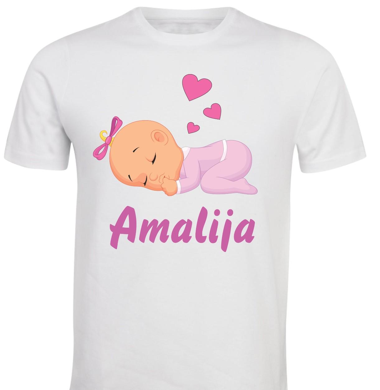 Otroška majica -sladke sanje