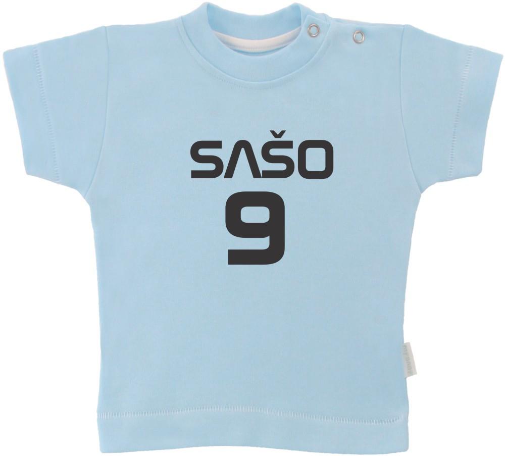 Otroška majica z napisom - šport
