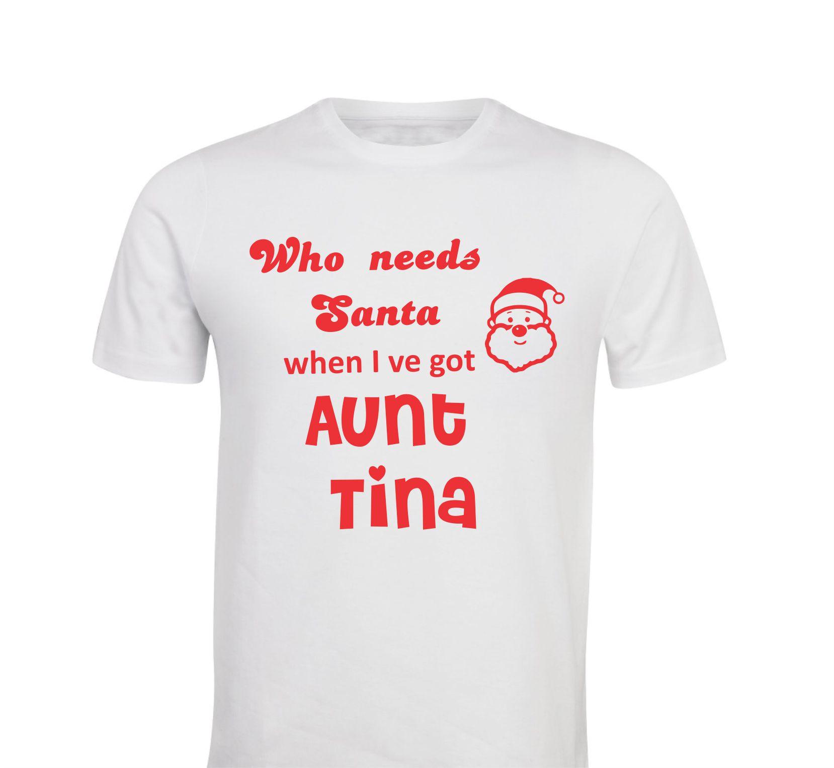 Otroška majica - santa teta