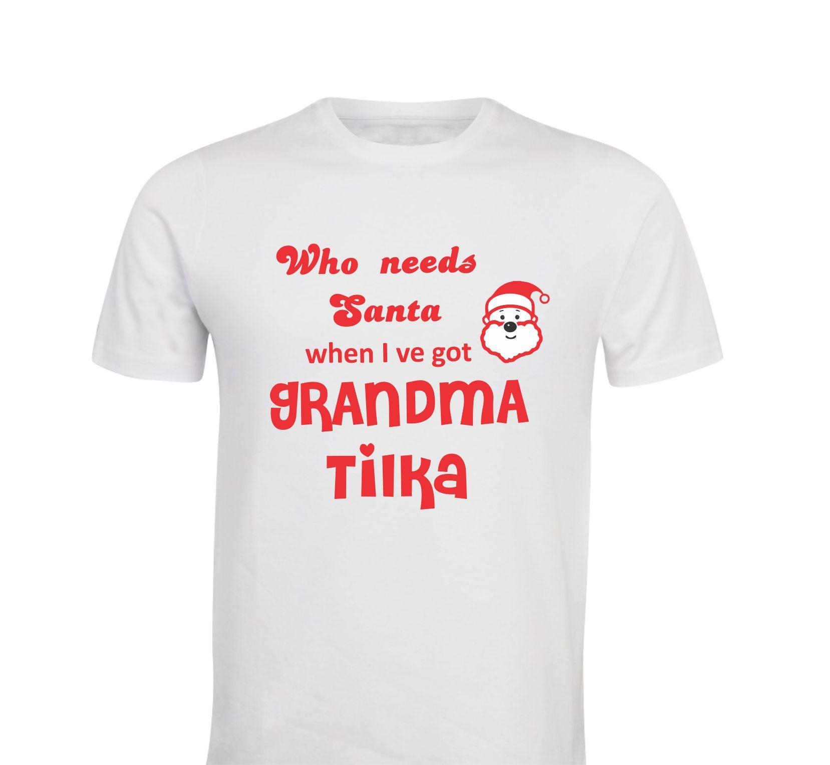 Otroška majica - santa babi