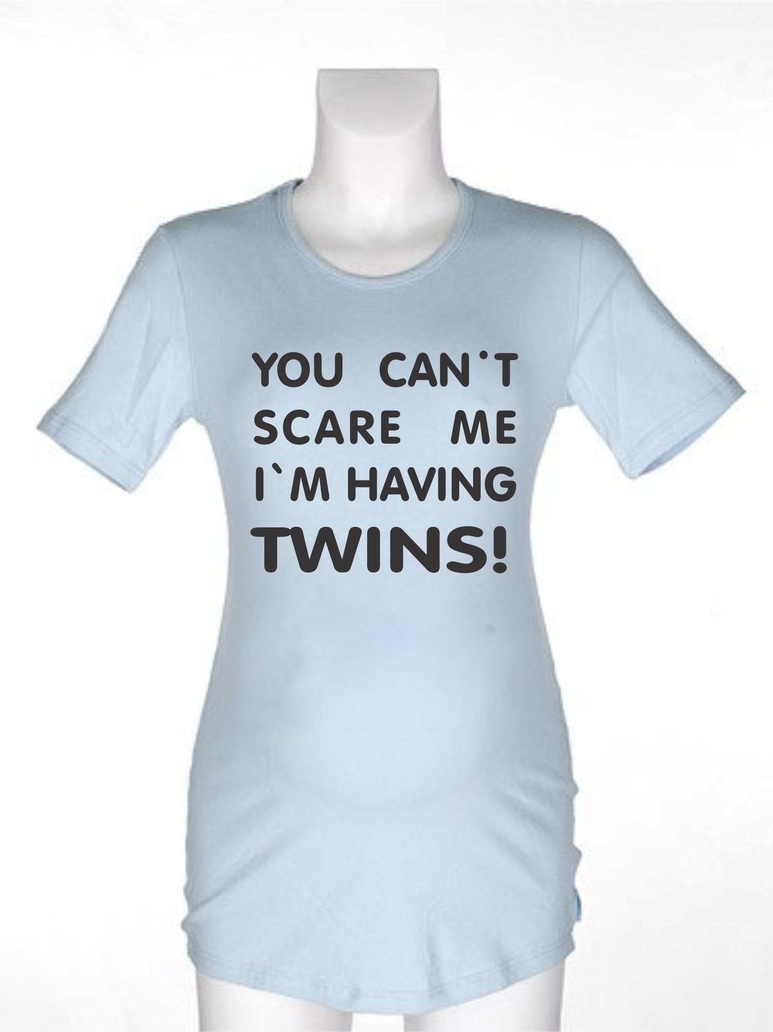 Majica za nosečnice z dvojčki