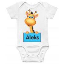 Otroški body žirafka