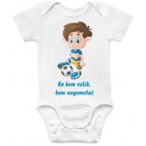 Otroški body nogometaš 2