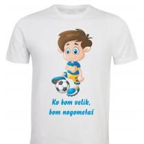 Otroška majica -nogometaš 2