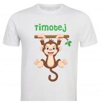 Otroška majica - opica