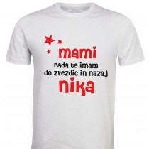 Otroška majica - do zvezdic