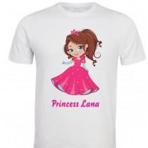 Otroška majica -princess