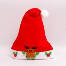 Božičkova otroška kapa jelenček