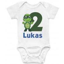Otroški body rojstni dan želvica