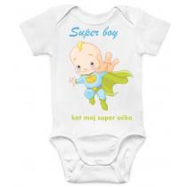 Otroški body superman