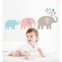 Otroške stenske nalepke - sloni