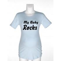 Majica za nosečnice - My Baby Rocks