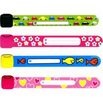 Infoband ID wristbands with name