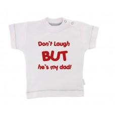 Zabavna otroška majica - don´t laugh