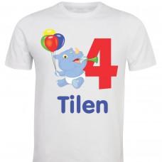 Otroška majica - rojstni dan hypo balon