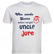 Otroška majica - santa stric