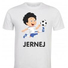 Otroška majica -nogometaš