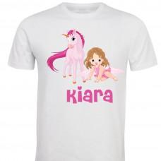 Otroška majica -konjiček in punčka