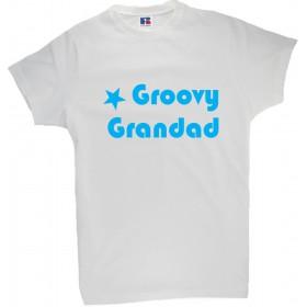 Majica z napisom za dedka - Groovy grandad