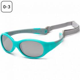 Otroška sončna očala Kul sun  aqua- grey (0-3)