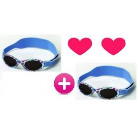 Paket Dvojčic - 2x čudovita in varna sončna očala za dojenčke RKS Azur