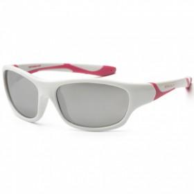 Otroška sončna očala KS sport  white pink  (3-8 let)