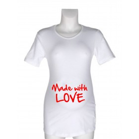 Majica za nosečnice z napisi - Izberi napis iz seznama!