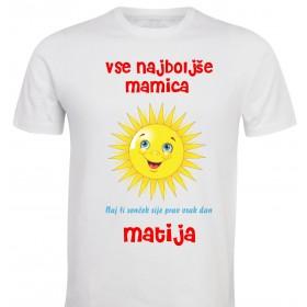 Otroška majica - mamica/ oči / teta... vse najboljše