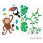 Vinilna nalepka - opica