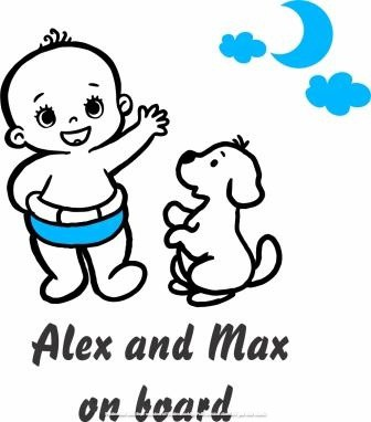 child_and_dog_on_board_car_sticker