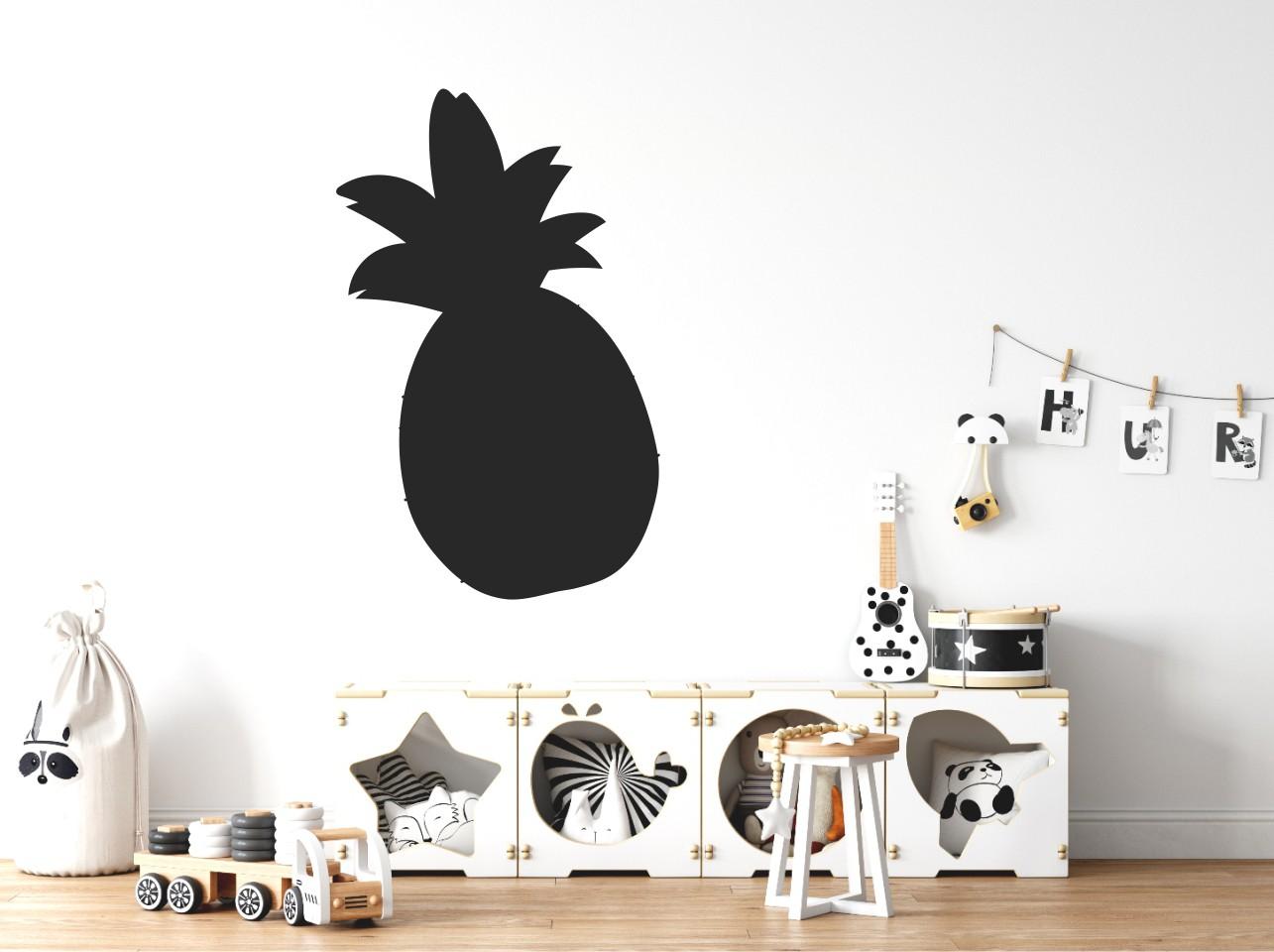 Chalkboard sticker - pine apple