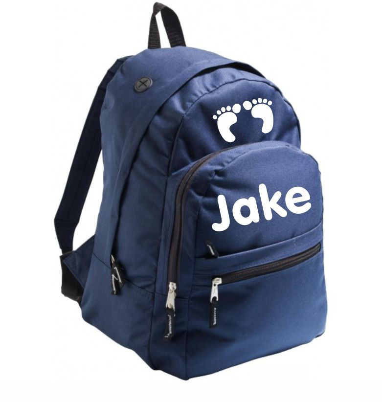 Backpack for school - dark blue