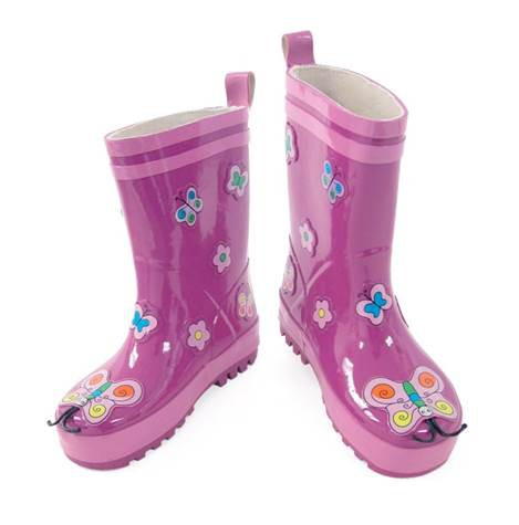 Kids Rain Boots - Kidorable Butterfly
