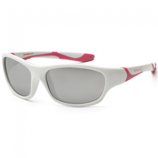 Sunglasses KS sport  white pink  (3-8)
