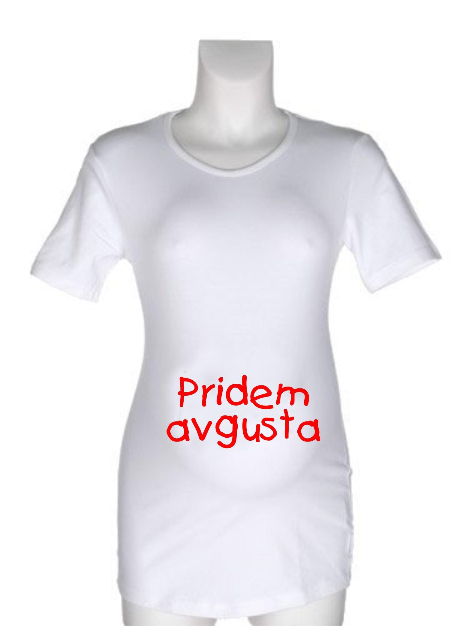 Majica za nosečnice - pisava Tr-kids