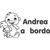 Baby on board sticker i am so cute