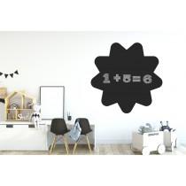 Chalkboard sticker - flower