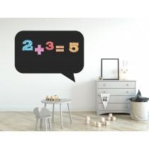 Chalkboard sticker - square