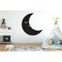 Chalkboard sticker - moon