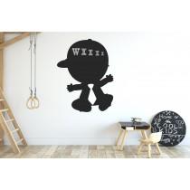 Chalkboard sticker - boy