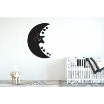 Chalkboard sticker - little moon