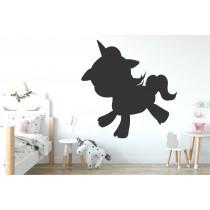 Chalkboard sticker - unicorn
