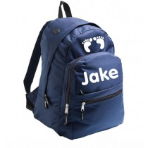 Backpack for school - dark blue