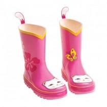 Kids Rain Boots - Lucky Cat