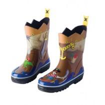 Kids Rain Boots Pirate