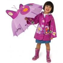 Kids rain coat Kidorable - Butterfly