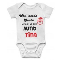 Otroški body teta in santa