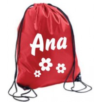 Sport bag with name