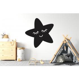 Chalkboard sticker - little star